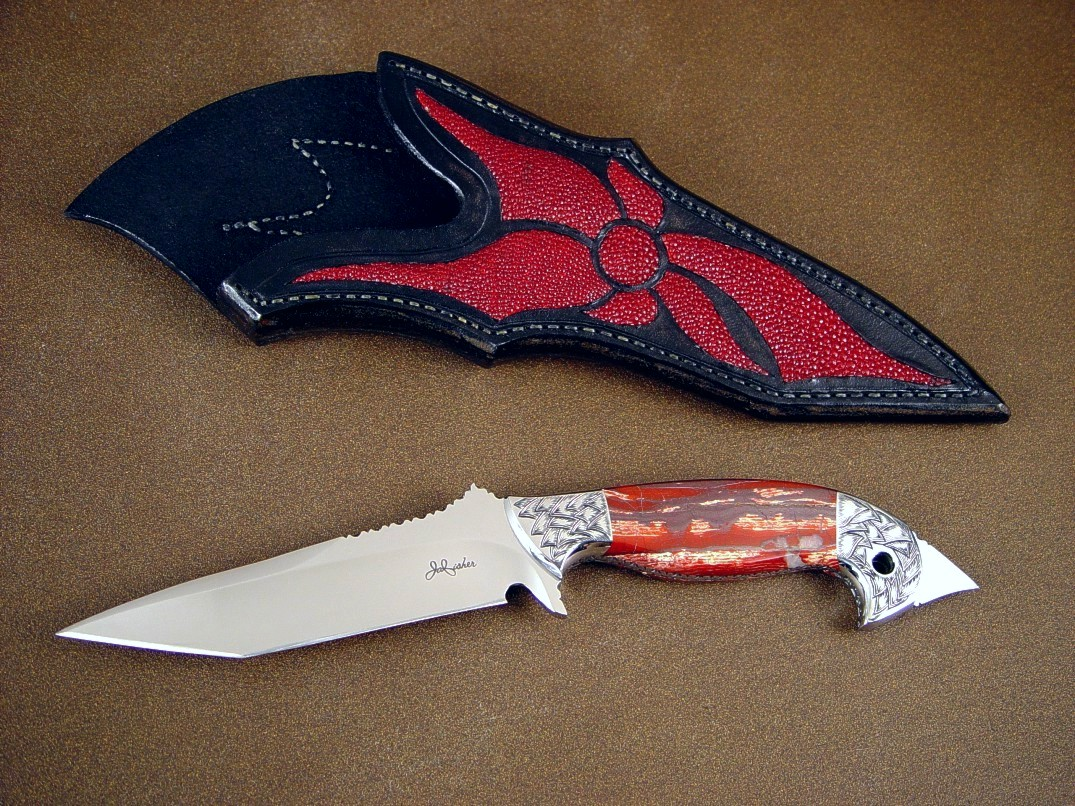quotmercurius magnumquot fine tactical art knife by jay fisher