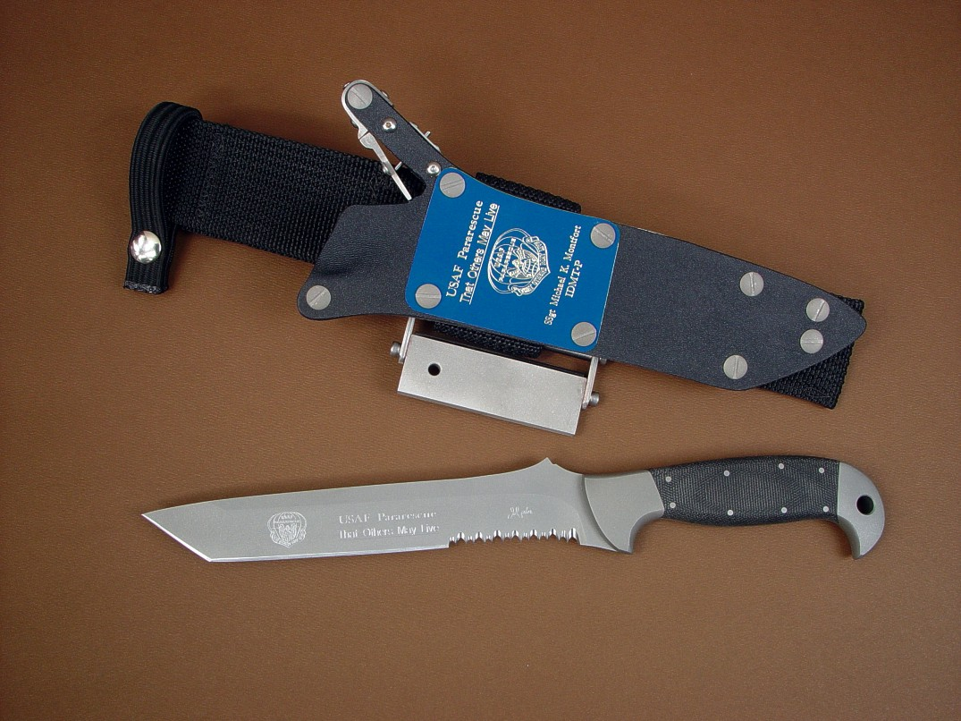 Quot Pj Quot Custom Csar Pararescue Knife By Jay Fisher